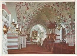 Vittskövle: Kyrkointeriör. Lunds Stift - (Sweden) - Zweden