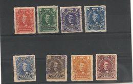 HONDURAS 1907 Série Courante N° Y/T : 100/107° - Honduras