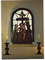 Vämbs Kyrka: Korsnedtagningen Skulptur I Absidfönstret, 1400-talet  - (Sweden) - Zweden