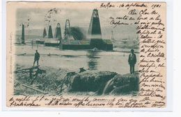 Baku Bacou Oil Erdöl 1901 OLD POSTCARD 2 Scans - Azerbaïjan