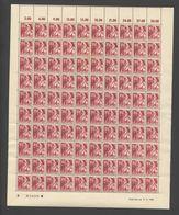 Rheinland-Pfalz,Nr.9,17.2.1948,B,10 Leerfelder Im OR,gefaltet (M6) Franz.Zone-Bogen - Französische Zone