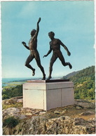 Gränna. 'Löparna' - (Nude Male Bronzes - Sport) - (Sweden) - Zweden
