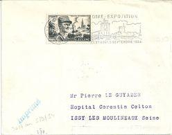 Flamme  De La Rochelle - Foire 1954 - Marcophilie (Lettres)
