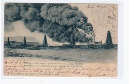 Baku Bacou Bibi- Eibat Oil Erdöl 1903 OLD POSTCARD 2 Scans - Azerbaïjan