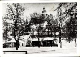 Cp Šumperk Mährisch Schönberg Reg. Olmütz, Blick Zur Kirche, Winter - Czech Republic