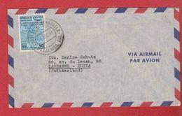 Venezuela --  Env Pour Lausanne -- 1 Dec 1954 - Venezuela