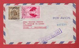 Venezuela --  Env Pour Lausanne -- 11 /7/1955 - Venezuela