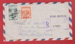 Venezuela --  Env Pour Lausanne -- 25 /7/1955 - Venezuela