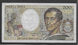 France 200 Francs Montesquieu - 1983 - Fayette N°70-3 - TTB - 1962-1997 ''Francs''