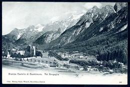STAMPA - Castello Di Castelmuro - Val Bregaglia - Non Viaggiata - Rif. 00682 - GR Grisons