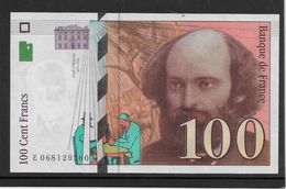 France 100 Francs Cézanne - 1998 - Fayette N°74-2 - SPL - 1992-2000 Ultima Gama