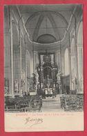 Beaumont - La Grand Nef De L'Eglise Saint-Servais - 1909 ( Voir Verso ) - Beaumont