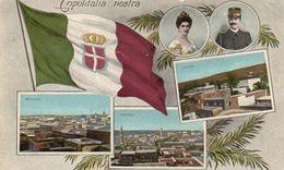 712Ma  Libye Colonie Italienne Tripolitalia Nostra Bengali Tripoli Derna (pas Courante Colorisée) - Libye