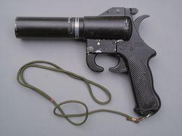 Pistolet Lance-fusées Réglementaire Américain De Marine USCG Kilmore Modèle B - Armes Neutralisées