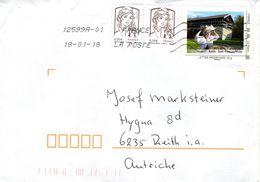 Auslands - Brief Von 12599A - 19550 Laval-sur-Luzège Mit Kaolin _Saint-Yrieix-la-Perche  2018 - 2013-... Marianne De Ciappa-Kawena