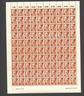 Rheinland-Pfalz,Nr.12,6.10.1947,A,gefaltet (M6) Franz.Zone-Bogen - Französische Zone