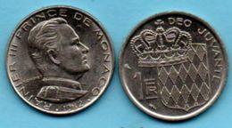 R50/  MONACO  1 Franc 1982 - 1960-2001 Nouveaux Francs