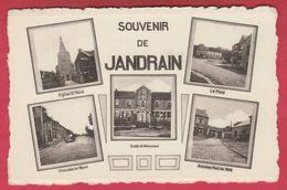 Jandrain - Souvenir De ... 5 Vues - 1954 ( Voir Verso ) - Orp-Jauche