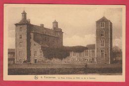 Farciennes - Le Vieux Château En 1925, Vu De La Sambre ( Voir Verso ) - Farciennes