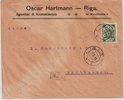 Lettland, Firmen - Brief, EF!  , # 9149 - Lettland