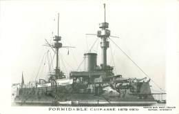 Bateau. N°35627 .formidable Cuirassé.1879/1909 - Guerre