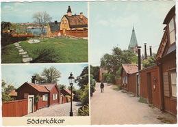 Söderkakar - Old Buildings On Söder - Stockholm - (Sweden) - Zweden