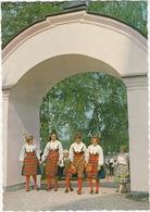 Dalarna - Vid Rättviks Kyrka - At Rättvik Church - Traditional Clothes - (Sweden) - Zweden