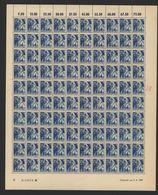 Rheinland-Pfalz,Nr.13,3.6.1947,B,gefaltet (M6) Franz.Zone-Bogen - Französische Zone