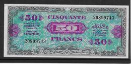 France Trésor 50 Francs Drapeau Juin 1944 Sans Série- Fayette N°VF 19-1 - SPL/NEUF - 1944 Drapeau/France