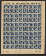 Rheinland-Pfalz,Nr.13,4.6.1947,B,gefaltet (M6) Franz.Zone-Bogen - Französische Zone