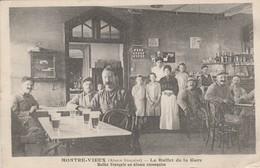 MONTRE - VIEUX  Le Buffet De La Gare - Frankreich