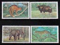 Thailand Stamp 1975 Protected Wild Animals 2nd - Thailand