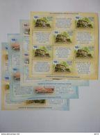 Russia 2011. Sochi-2014. Tourism On Black Sea Shore. Sheetlets Set.  MNH. - 1992-.... Federation