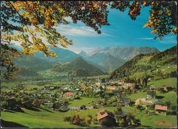 Austria - 6780 Schruns  Gegen Tschagguns Mit Zimba - Schruns