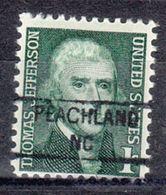 USA Precancel Vorausentwertung Preo, Locals North Carolina, Peachland 841 - United States