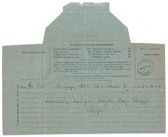 1??2 - CAD ONDULÉ TÉLÉGRAPHIQUE De LA MOLE (VAR) Sur TÉLÉGRAMME N° 701 De DRAGUIGNAN - Postmark Collection (Covers)