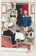 CPA Illustrateur H. GERVESE. Nos Marins. N°86  Le Certificat De Décès...CO 441 - Gervese, H.