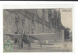Josselin Aviation 18 Septembre 1910 Aéroplane ( Ayant Atterri Dans La Cour Du Château ) - ....-1914: Precursors