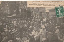 CPA : GUINGAMP  Fête Commémorative De Notre Dame De Bonsecourt - Guingamp