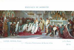 CPA N°18181 - LOT DE 11 CPA DE LA BASILIQUE DE DOMREMY - LIONEL ROYER  - PEINTURES + SOUVENIR DE DOMREMY A JEANNE D' ARC - Domremy La Pucelle