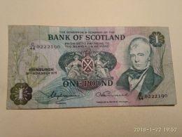 1 Pound - Scozia