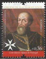 Portogallo 2013 - Grăo-Mestre Afonso De Portugal - 900° Anniversario Dell'Ordine Di Malta - 1910 - ... Repubblica