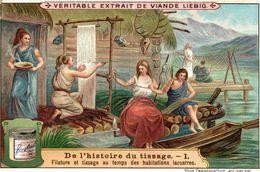 LIEBIG   DE LHISTOIRE DU TISSAGE - Liebig