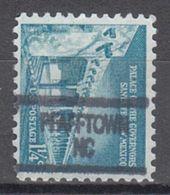 USA Precancel Vorausentwertung Preo, Locals North Carolina, Pfaffton 904 - Etats-Unis