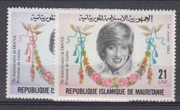 MAURITANIE      1982              507 / 508         COTE       5 , 00       EUROS            ( 705 ) - Mauritanie (1960-...)
