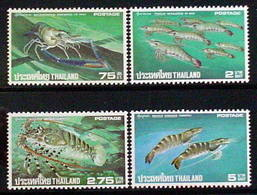 Thailand Stamp 1976 Lopster Shrimp Prawn - Thailand