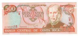 Costa Rica 500 Colones 1994 UNC - Costa Rica