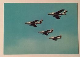 AERONAUTICA MILITARE- FORMAZIONE D'AVIOGETTI REPUBLIC F84F THUNDERSTREAK  NV FG - 1946-....: Era Moderna