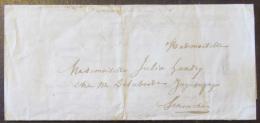 Manuscrit : Lettre Ancienne Vers 1850 - Manuscrits