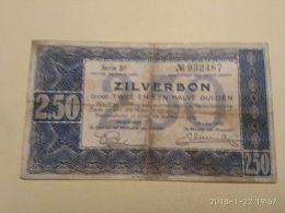 2 1/2 Gulden 1938 - [2] 1815-… : Kingdom Of The Netherlands